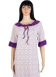 Ночная рубашка женская СЖ-02 абстракция 349 - фото Пані Яновська cde762e4198dd