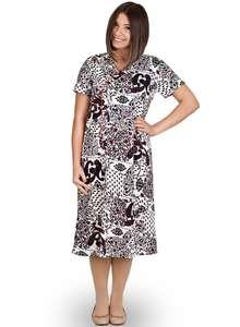 Сорочка женская короткий рукав СР-01-02 абстракция 408 - фото Пані Яновська fb2514e2cc0e5