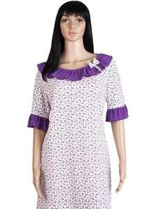 Женская ночная рубашка СЖ-03 абстракция 349 - фото Пані Яновська dbb15e2fd826f