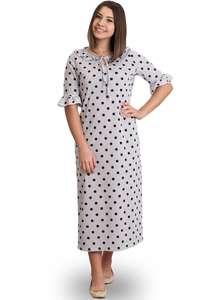 Ночная рубашка женская СЖ-02 абстракция 327 - фото Пані Яновська 975110b41b45c