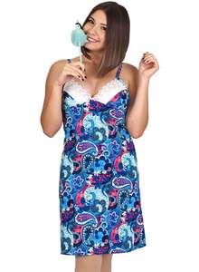 Купить женские ночные сорочки состав ткани - 100 % хлопок b53669fb7c1ab