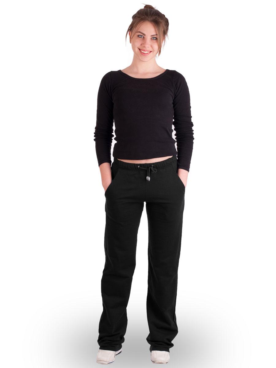 Штани жіночі домашні з високою талією БНУ-01-01 чорний - купити ... 38a92920b1ac8