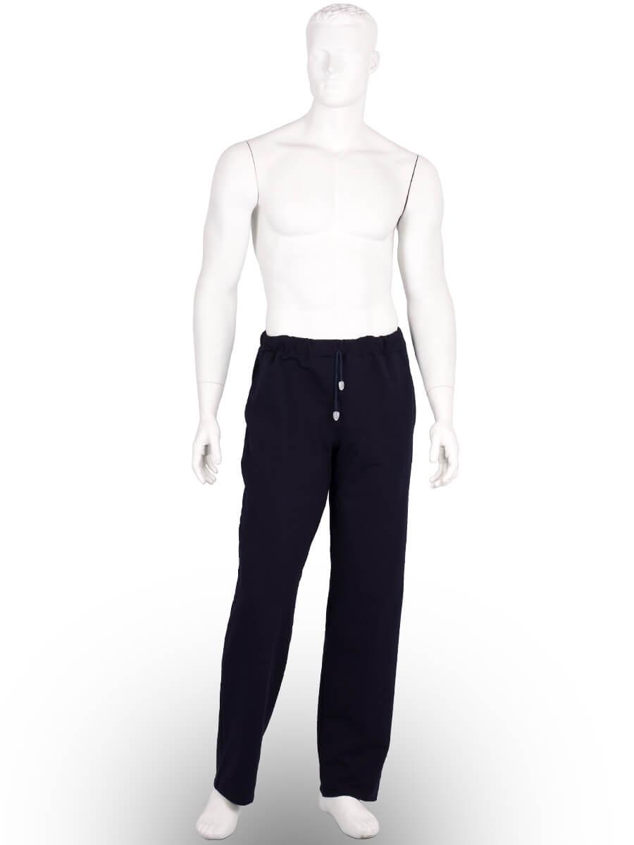 Спортивні штани чоловічі футер-стрейч БФ-04 темно-синій - купити ... 8d6cab44de034