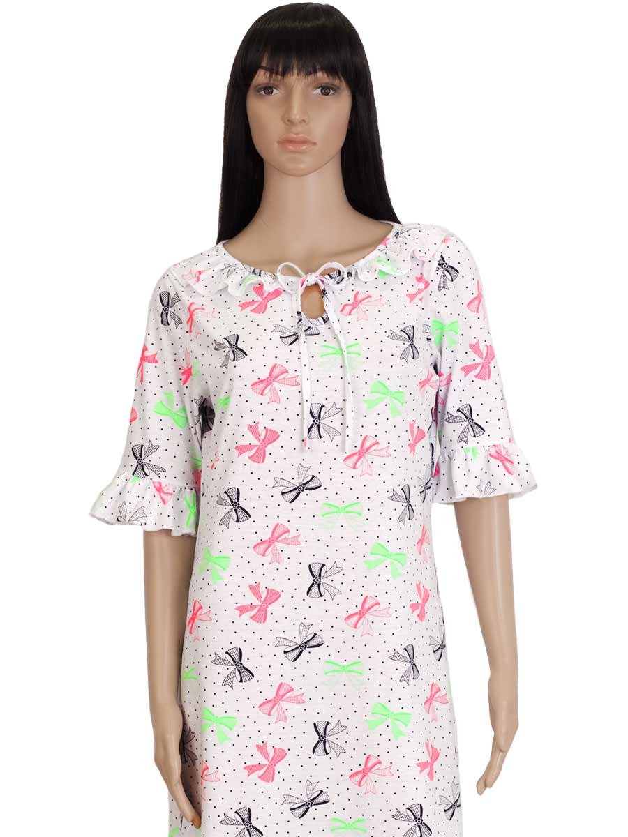Нічна сорочка жіноча СЖ-02 абстракція 337 - купити оптом по ціні від ... a576e80643de2
