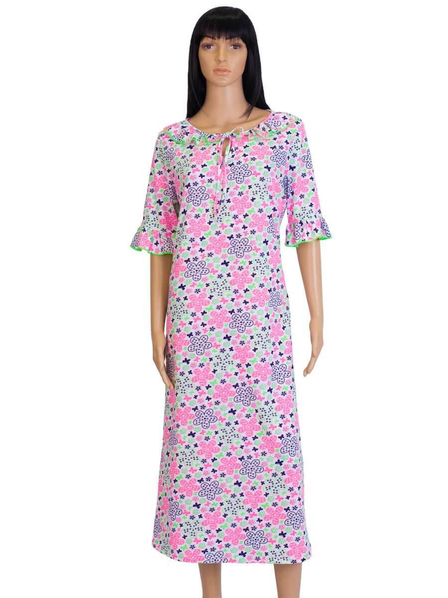 Нічна сорочка жіноча СЖ-02 абстракція 345 - купити оптом по ціні від ... 1aa64b6ef2015