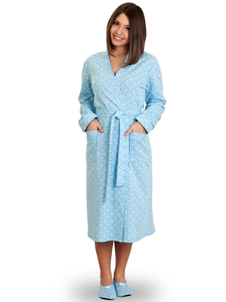 006500d8add Тёплый женский халат на запах ХЖ-05-02 абстракция 409 - купить оптом ...