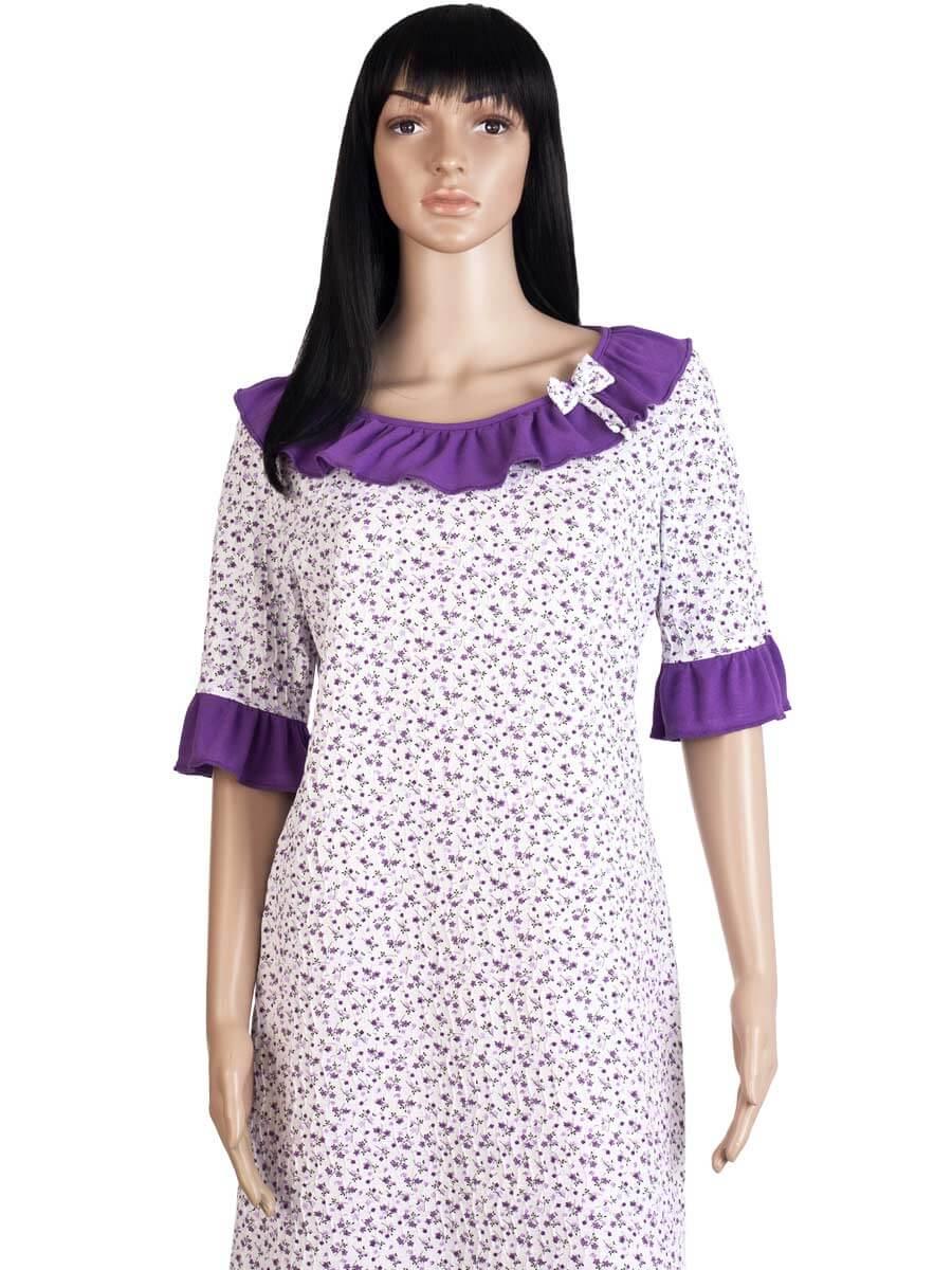 Жіноча нічна сорочка СЖ-03 абстракція 349 - купити оптом по ціні від ... affd36ca8cb30