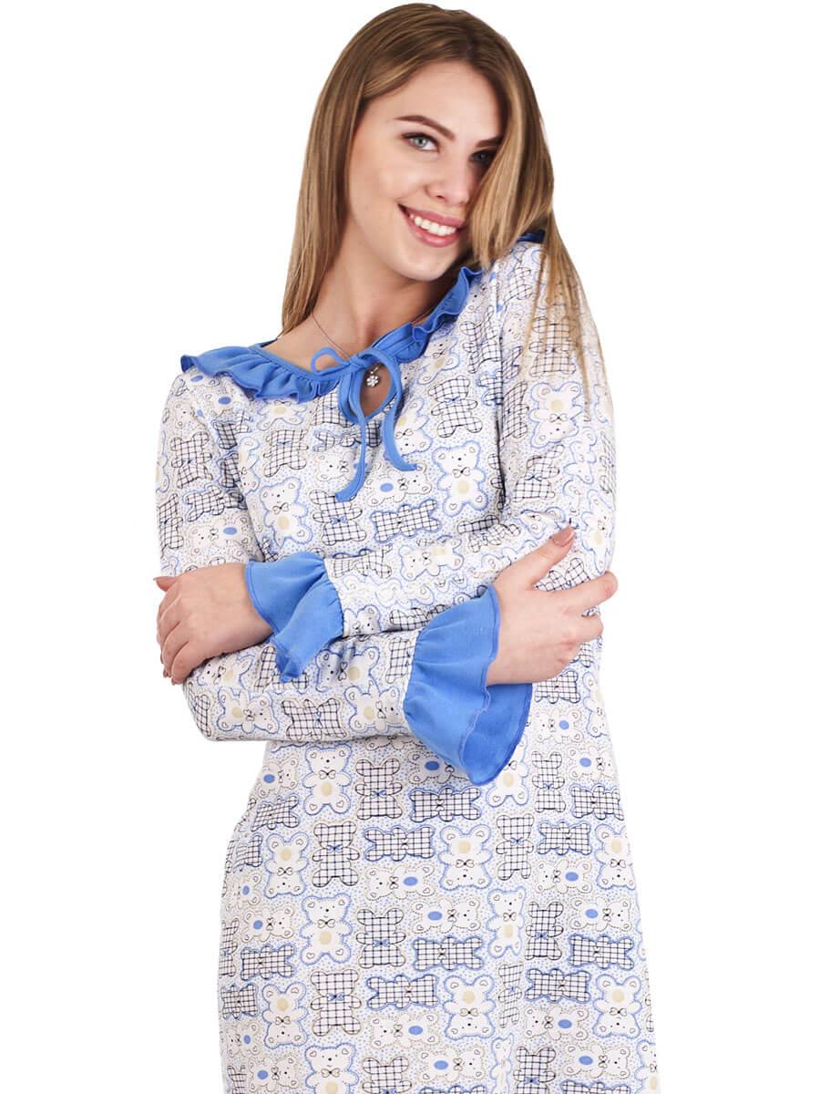 Нічна сорочка тепла довга СН-02 абстракція 359 - купити оптом по ... 9e906ab0a0dac